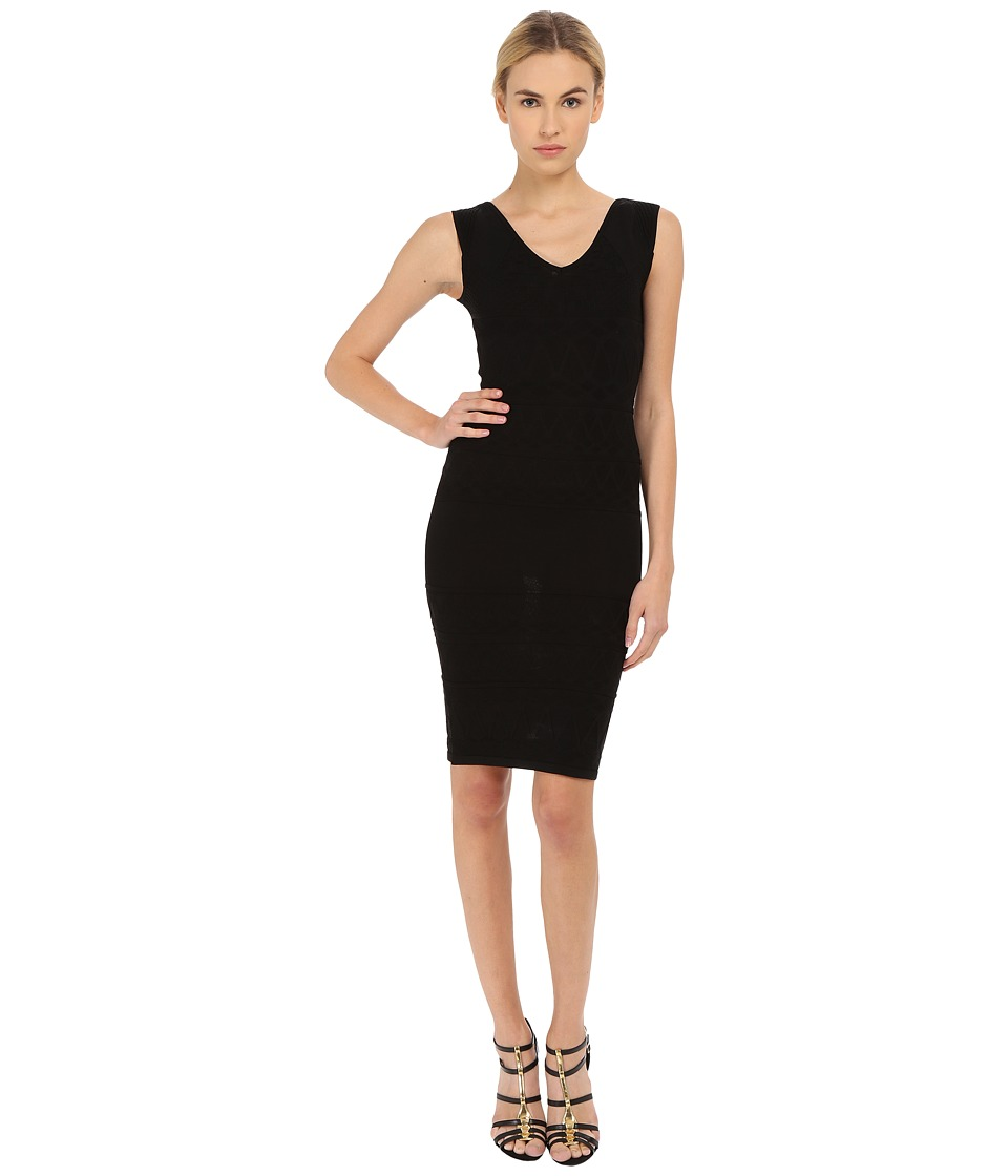 Versace Collection - Knit Dress (Black) Women's Dress