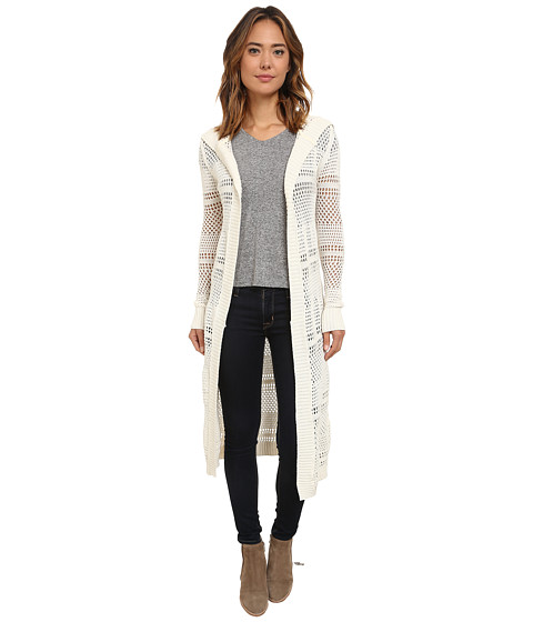 UNIONBAY - Beachside Stripe Cardigan (Muslin) Women's Sweater