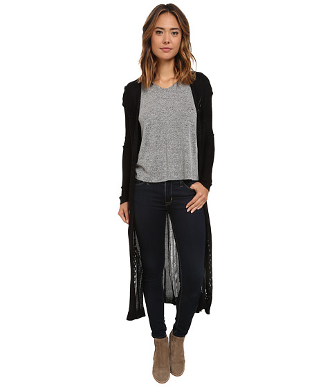 UNIONBAY - Chelsea Cardigan (Black) Women's Sweater