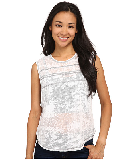 UNIONBAY - Vancouver Amanda Tank Top (White) Women's Sleeveless