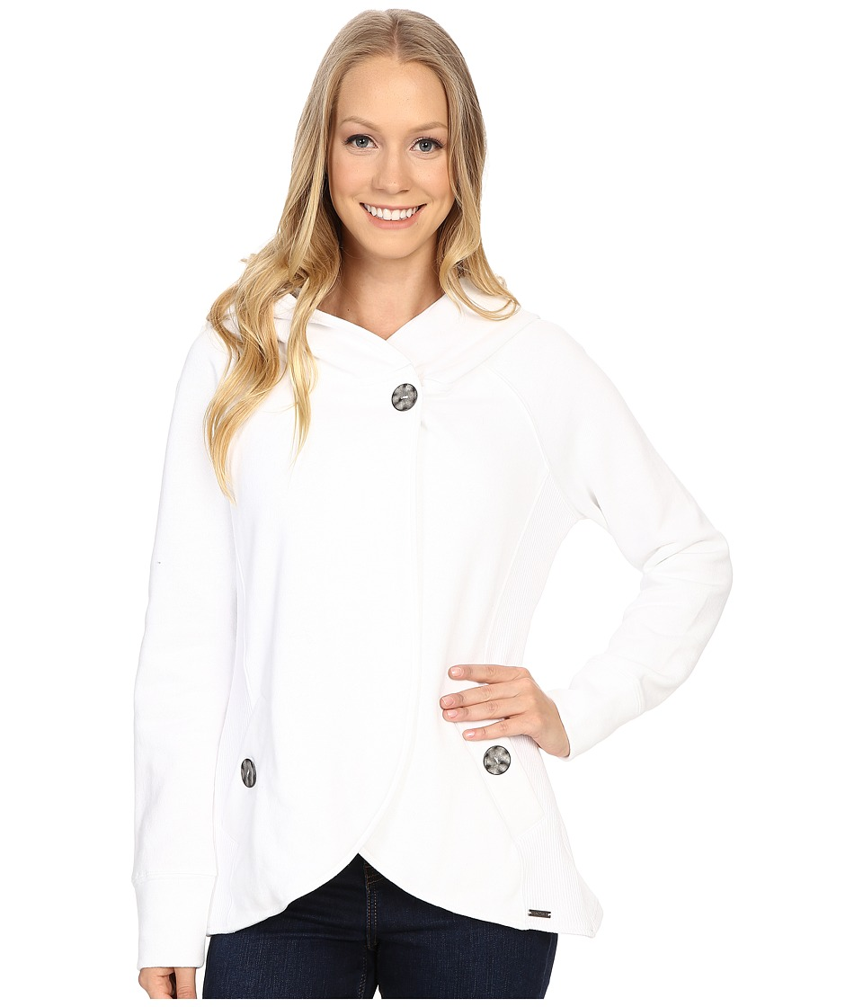 Prana - Darby Jacket (White) Women's Coat