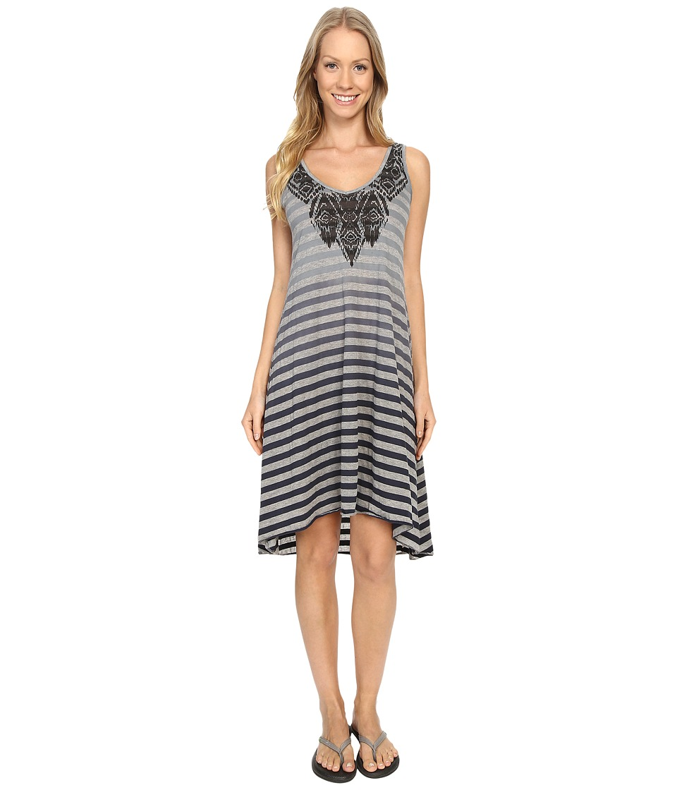 Prana Henna Dress (Charcoal) Women's Dress