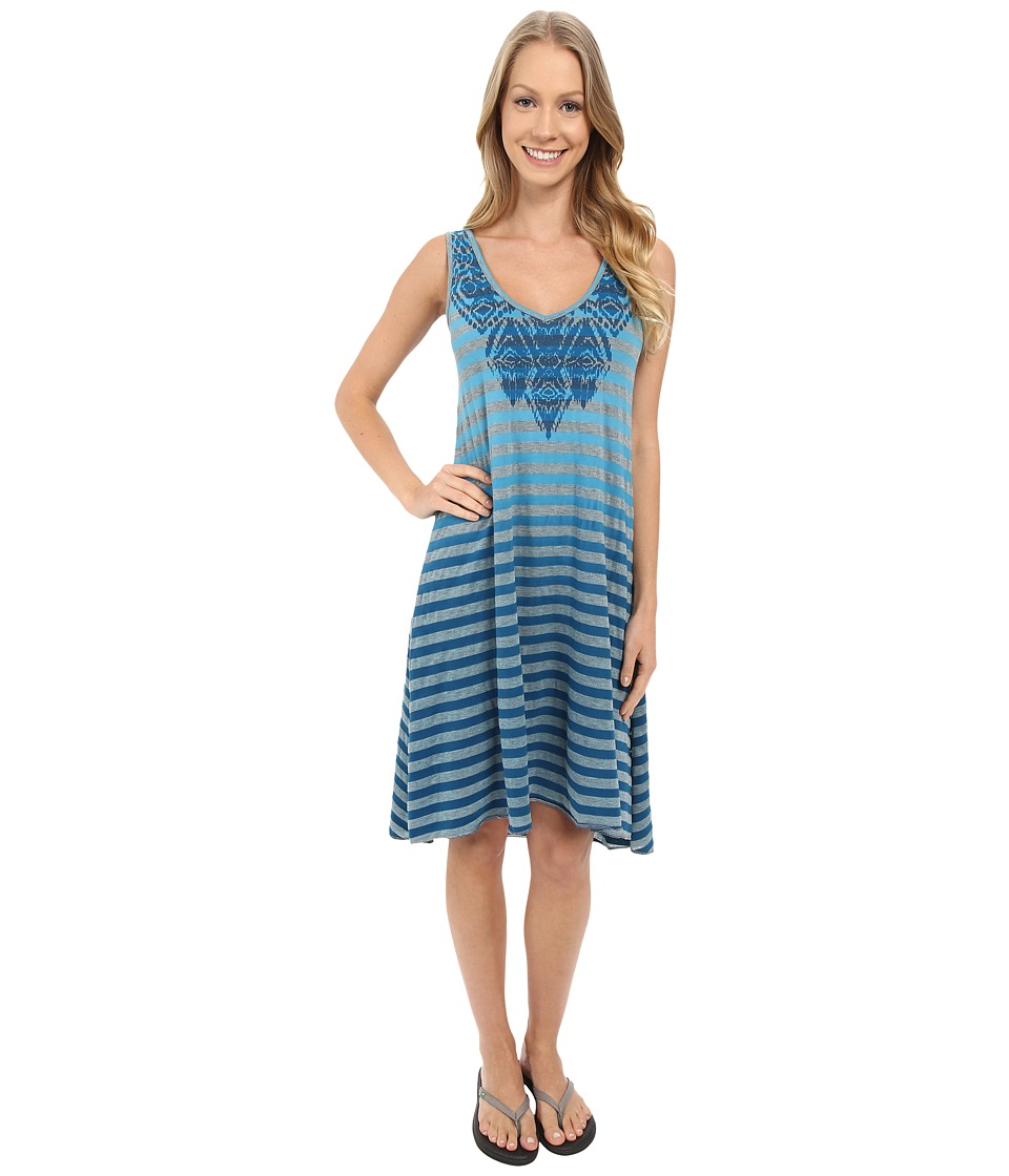 Prana - Henna Dress (Electro Blue) Women's Dress