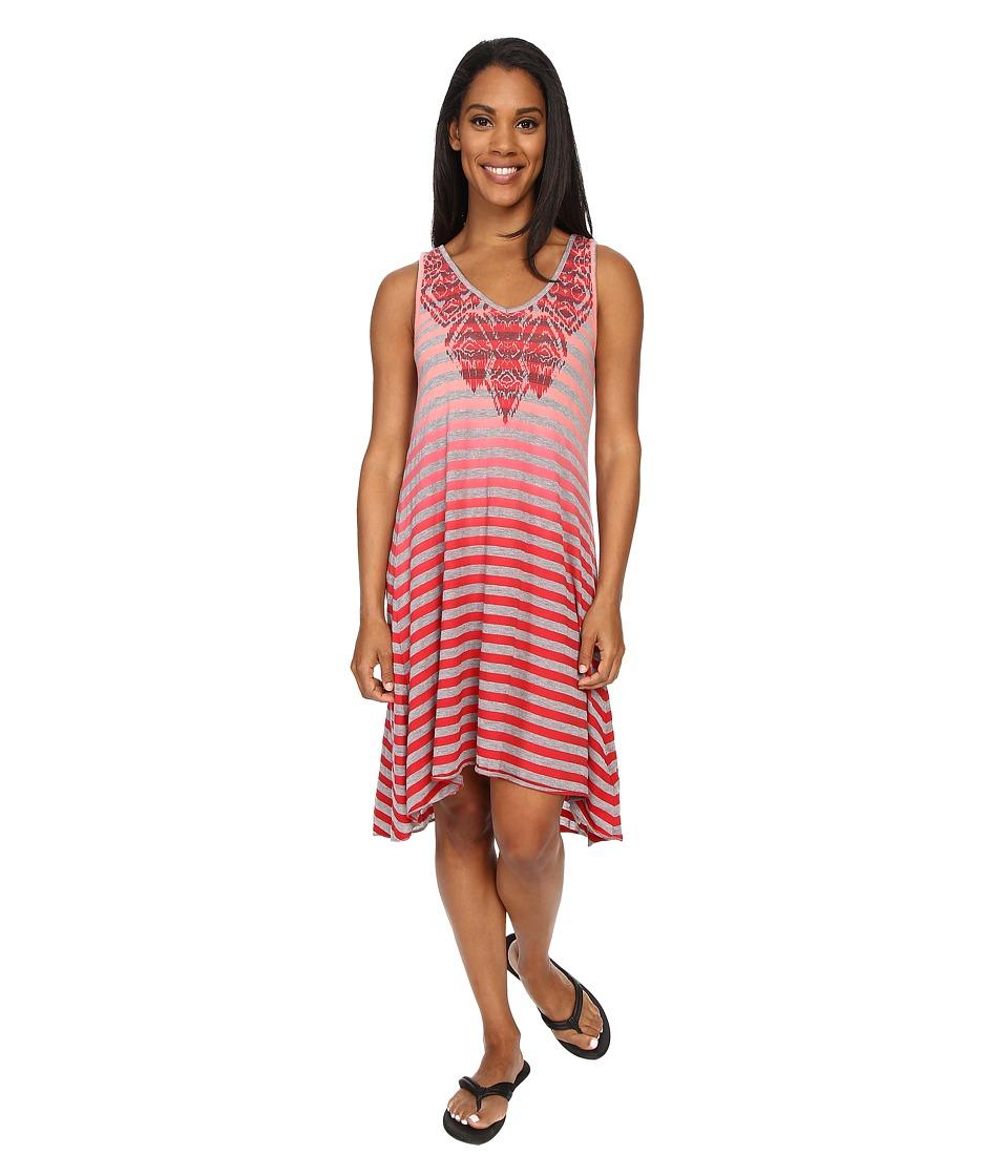 Prana - Henna Dress (Sunwashed Red) Women's Dress