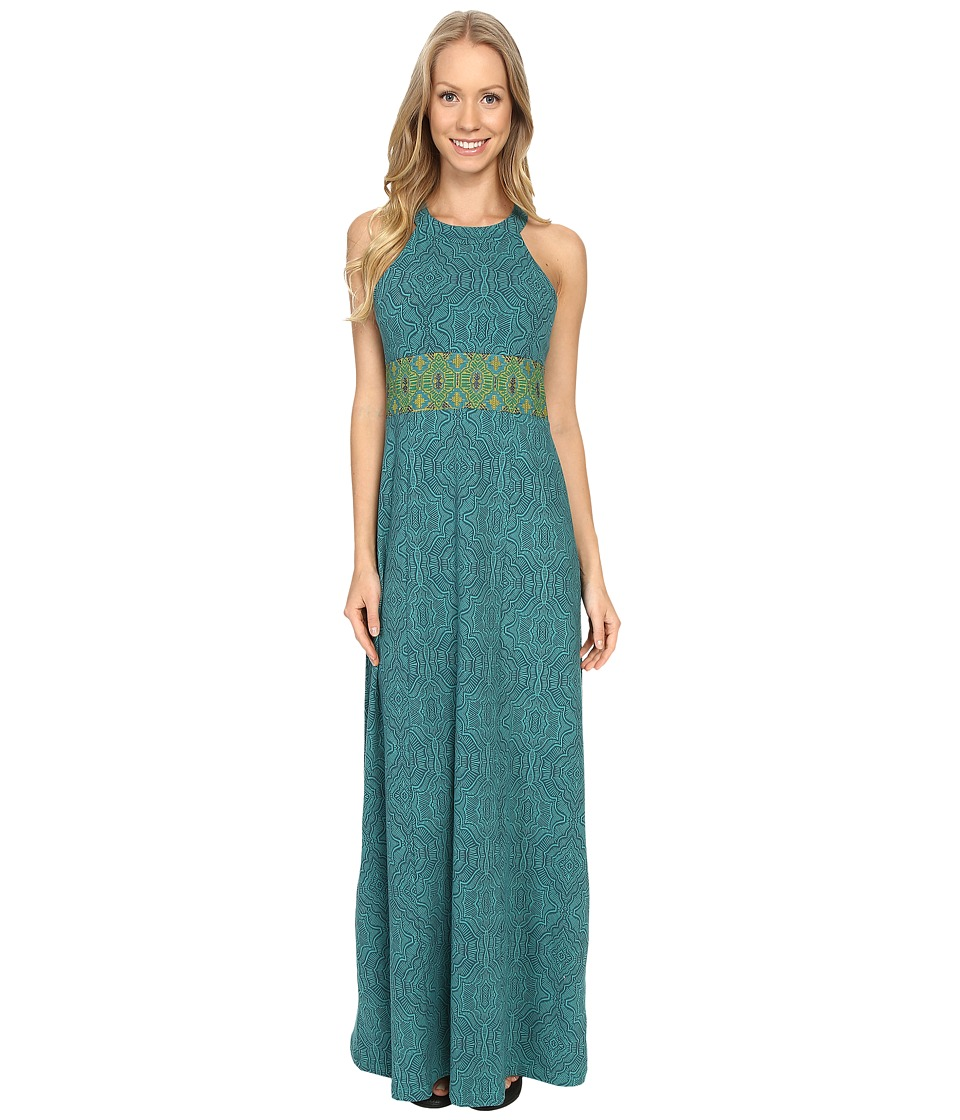 Prana - Skye Dress (Retro Teal) Women's Dress