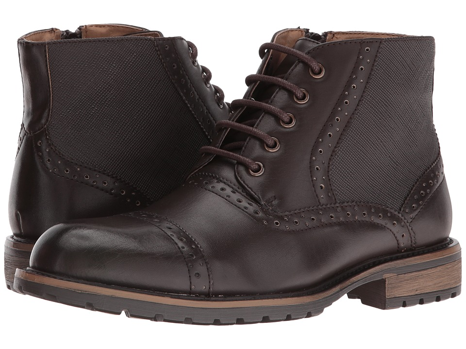 Steve Madden - Scribe (Brown) Men's Dress Lace-up Boots