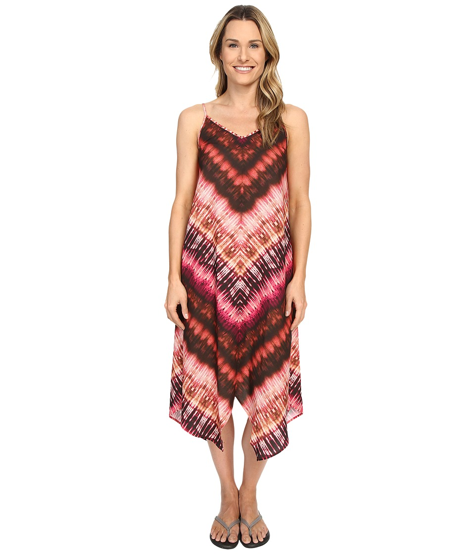 Prana - Angelique Dress (Bright Coral) Women's Dress