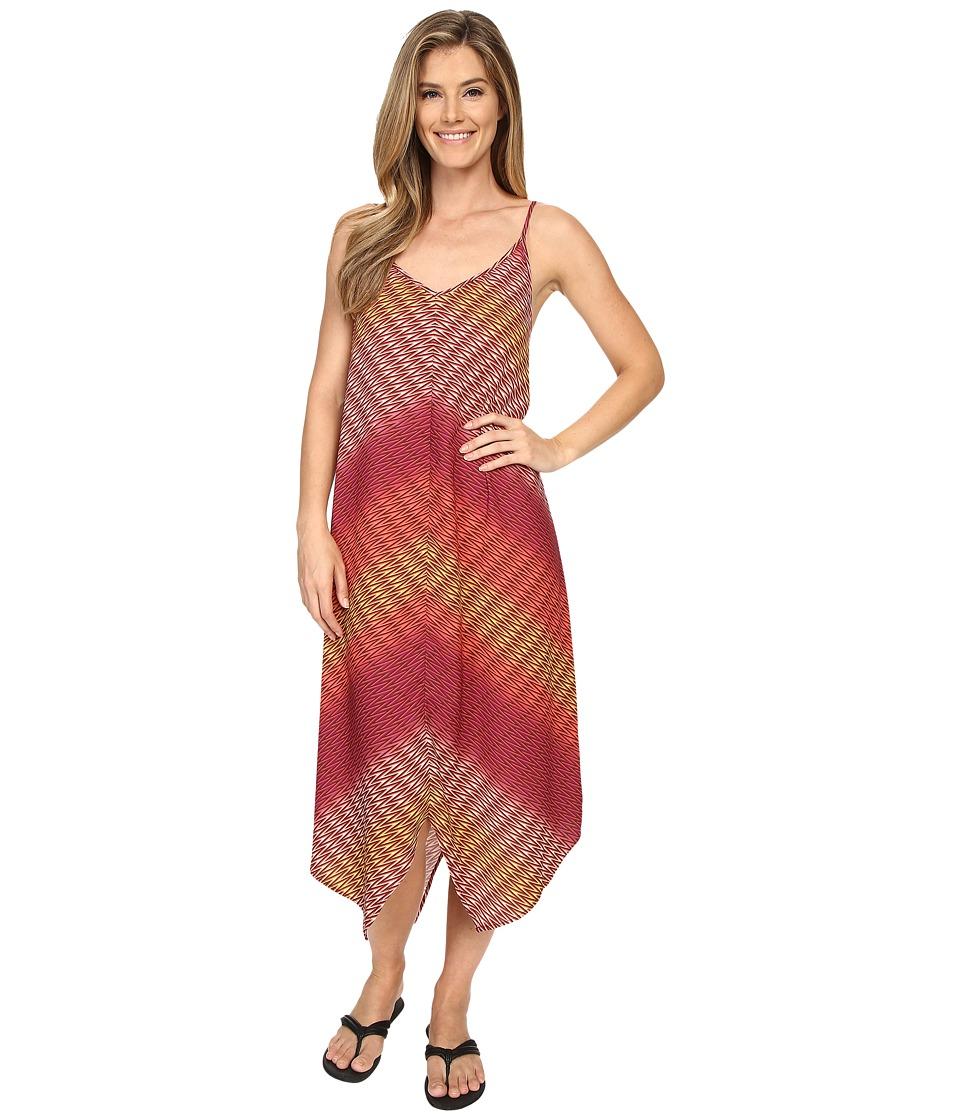 Prana - Angelique Dress (Rich Fuchsia) Women's Dress
