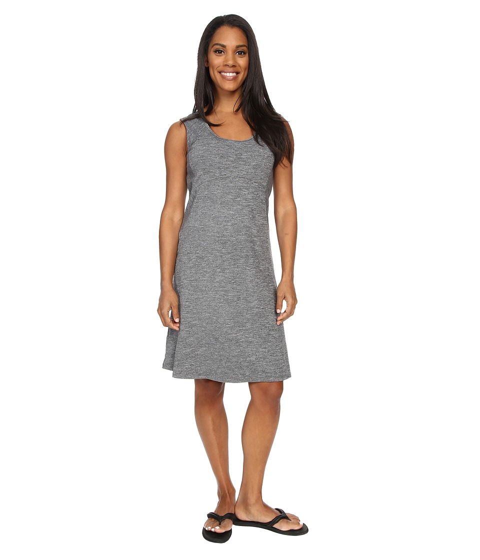 Prana - Calico Dress (Black) Women's Dress