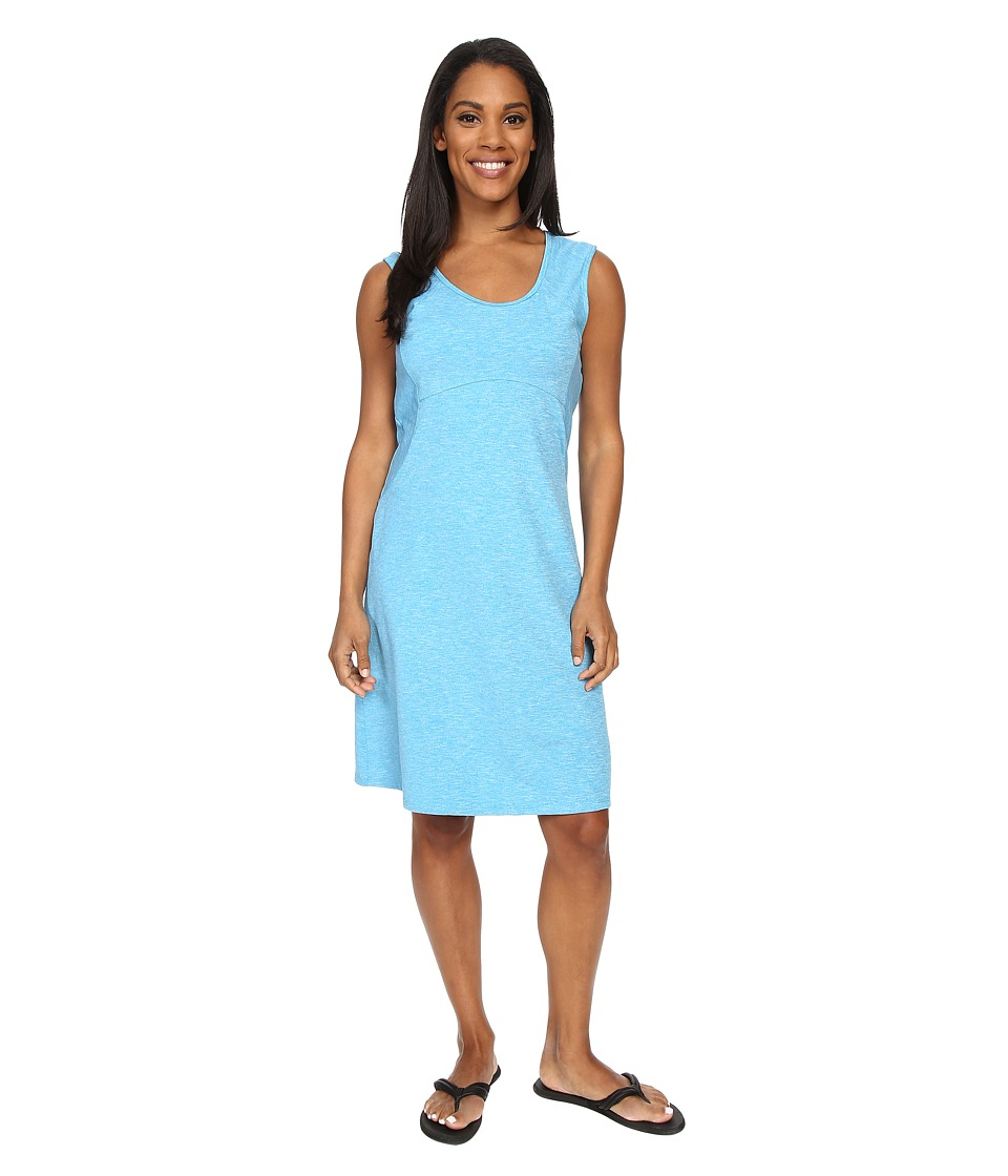 Prana - Calico Dress (Electro Blue) Women's Dress