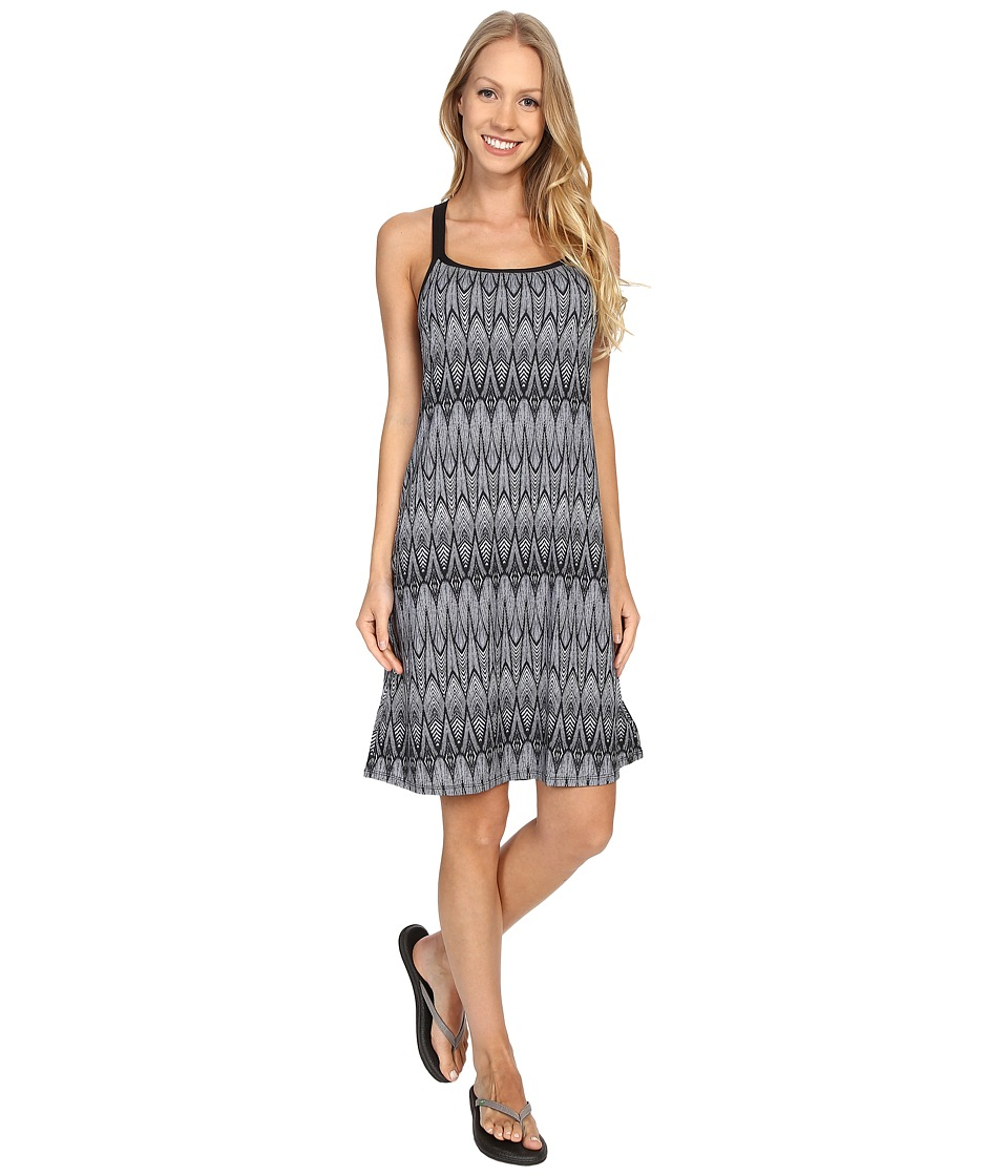 Prana - Cora Dress (Black Feather) Women's Dress