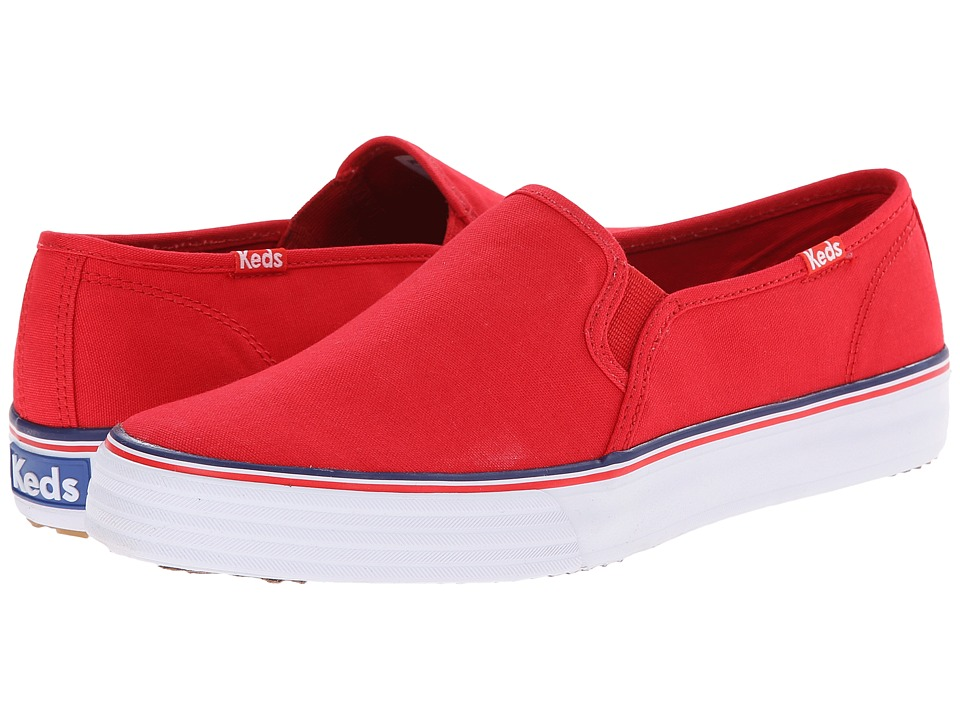 Keds - Double Decker (Red) Women's Slip on Shoes