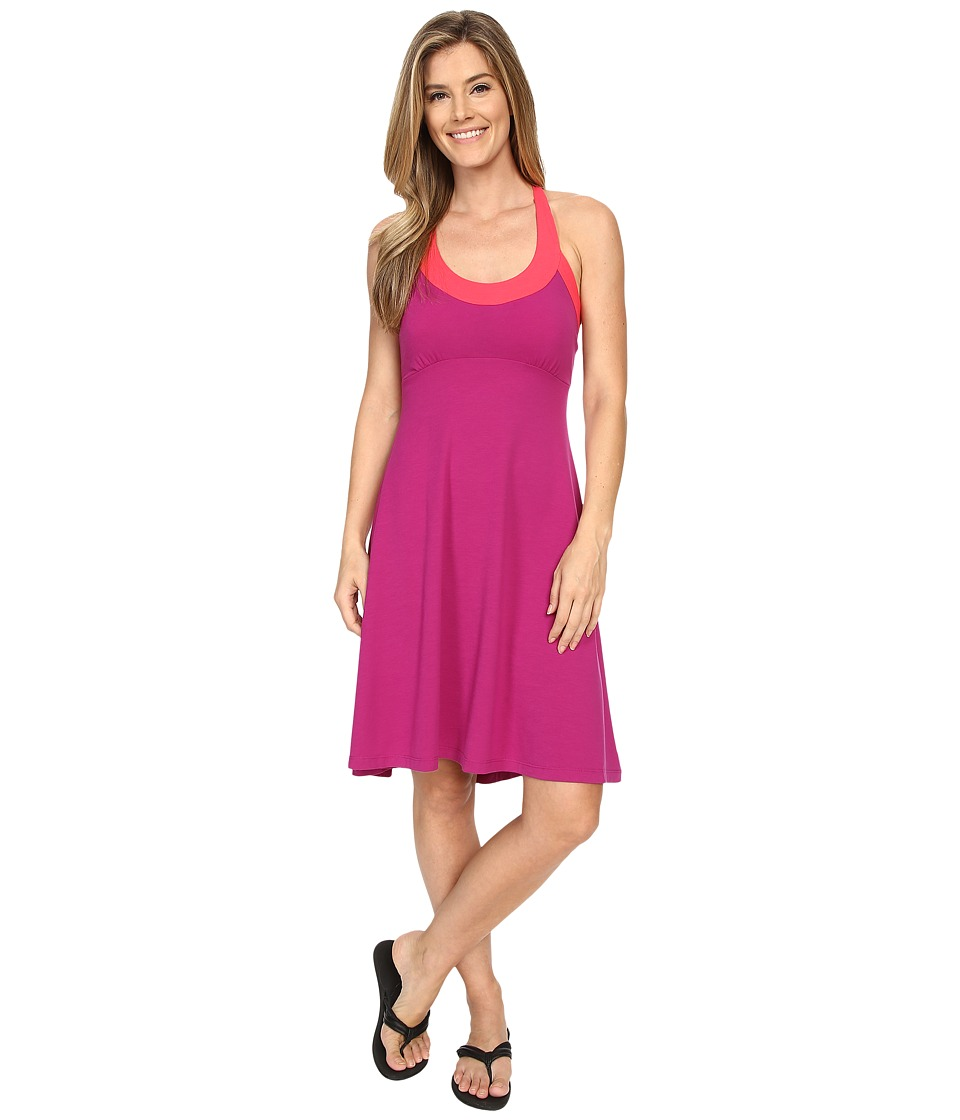 Prana - Cali Dress (Rich Fuchsia) Women's Dress