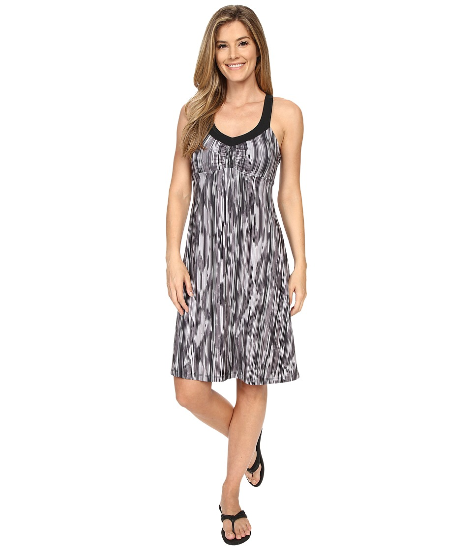 Prana Shauna Dress (Black Rainblur) Women