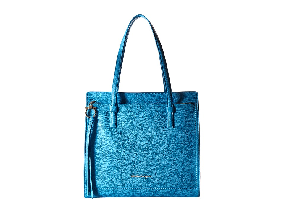 Salvatore Ferragamo - Amy 21F216 (Cielo) Handbags