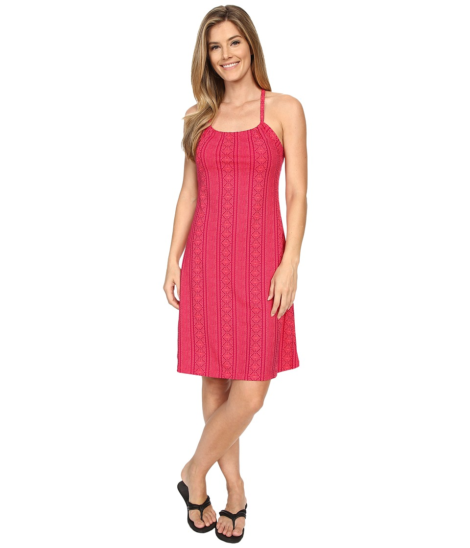 Prana - Quinn Dress (Fuchsia Lace) Women's Dress