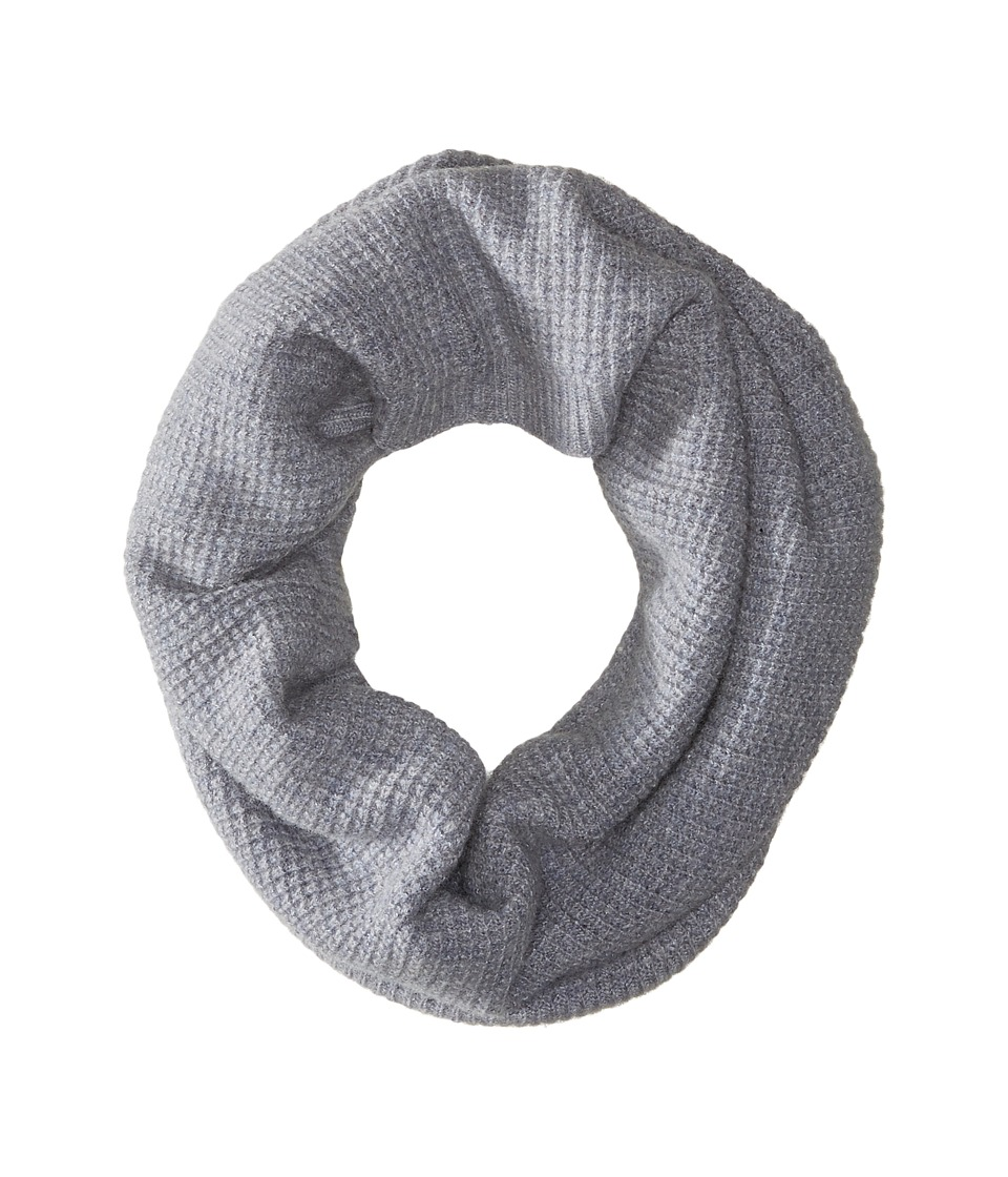 LAUREN by Ralph Lauren - Baby Waffle Stitch Snood (Mid Grey) Scarves