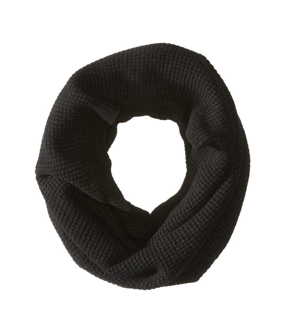 LAUREN by Ralph Lauren - Baby Waffle Stitch Snood (Black) Scarves