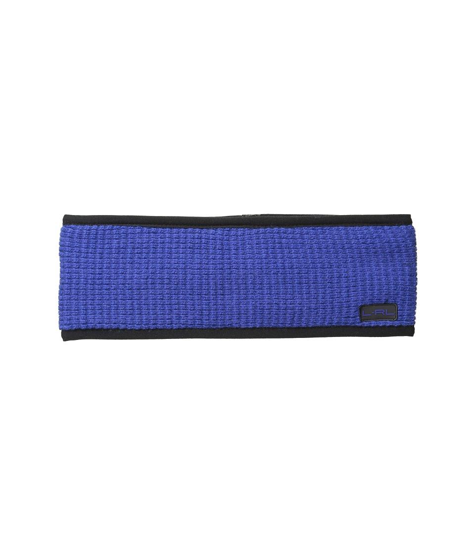 LAUREN by Ralph Lauren - Baby Waffle Stitch Headband (Blue) Headband