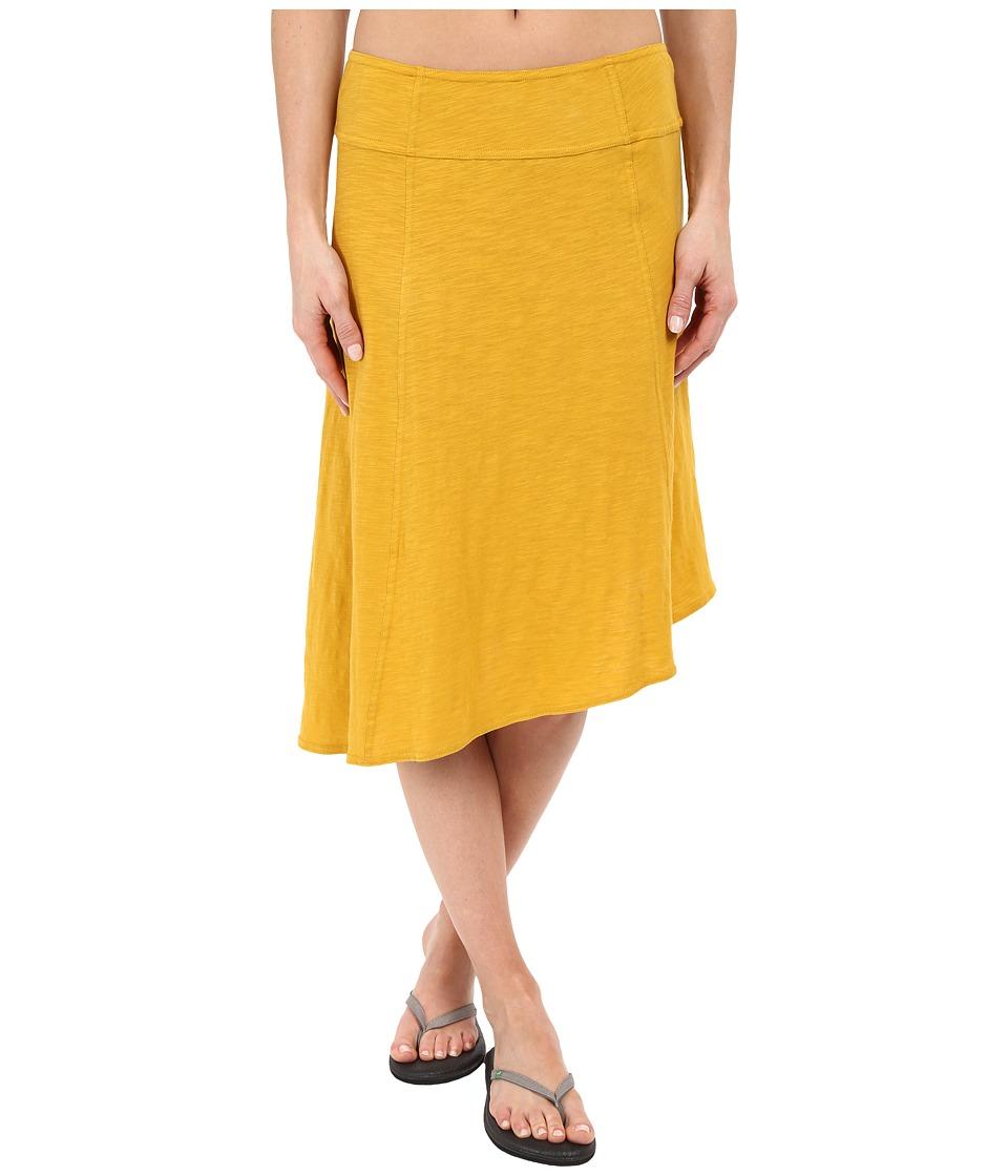Prana - Jacinta Skirt (Marigold) Women's Skirt