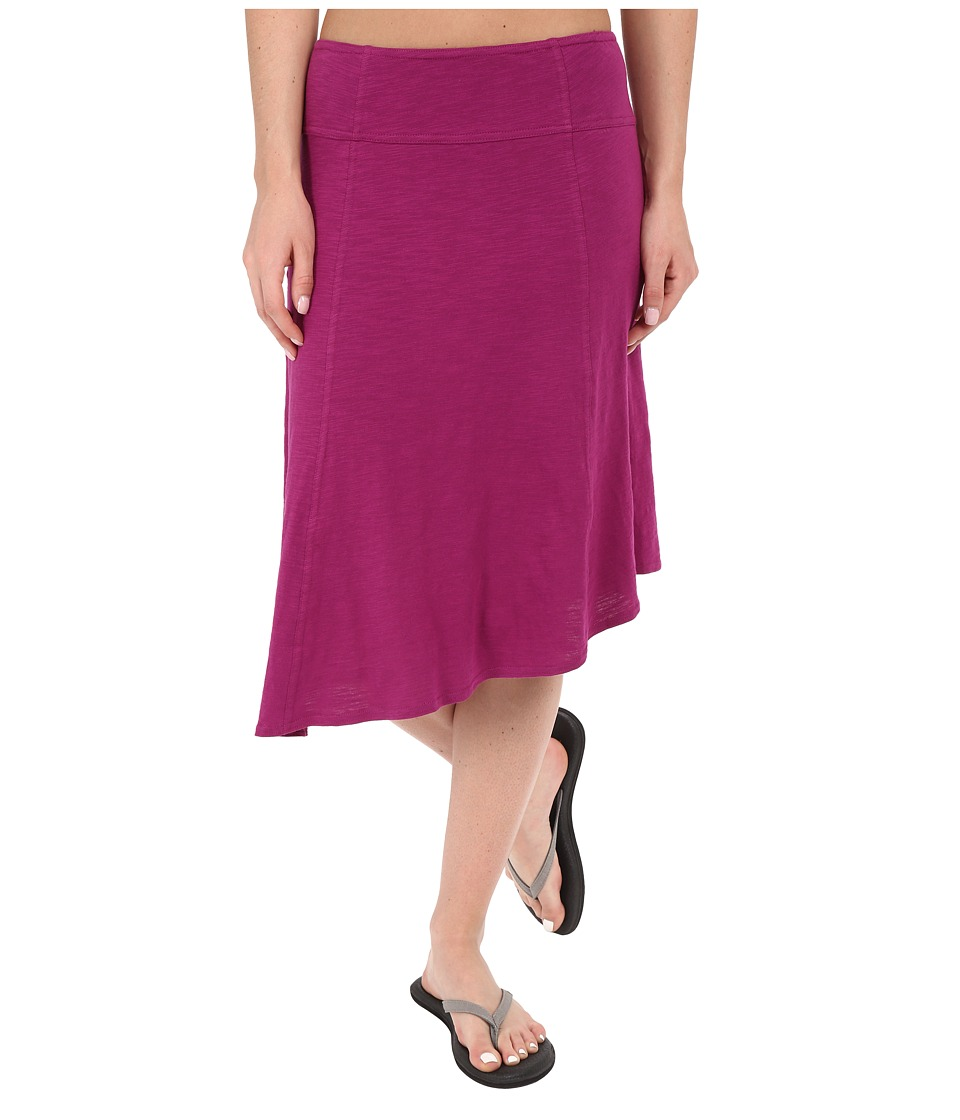 Prana Jacinta Skirt (Rich Fuchsia) Women