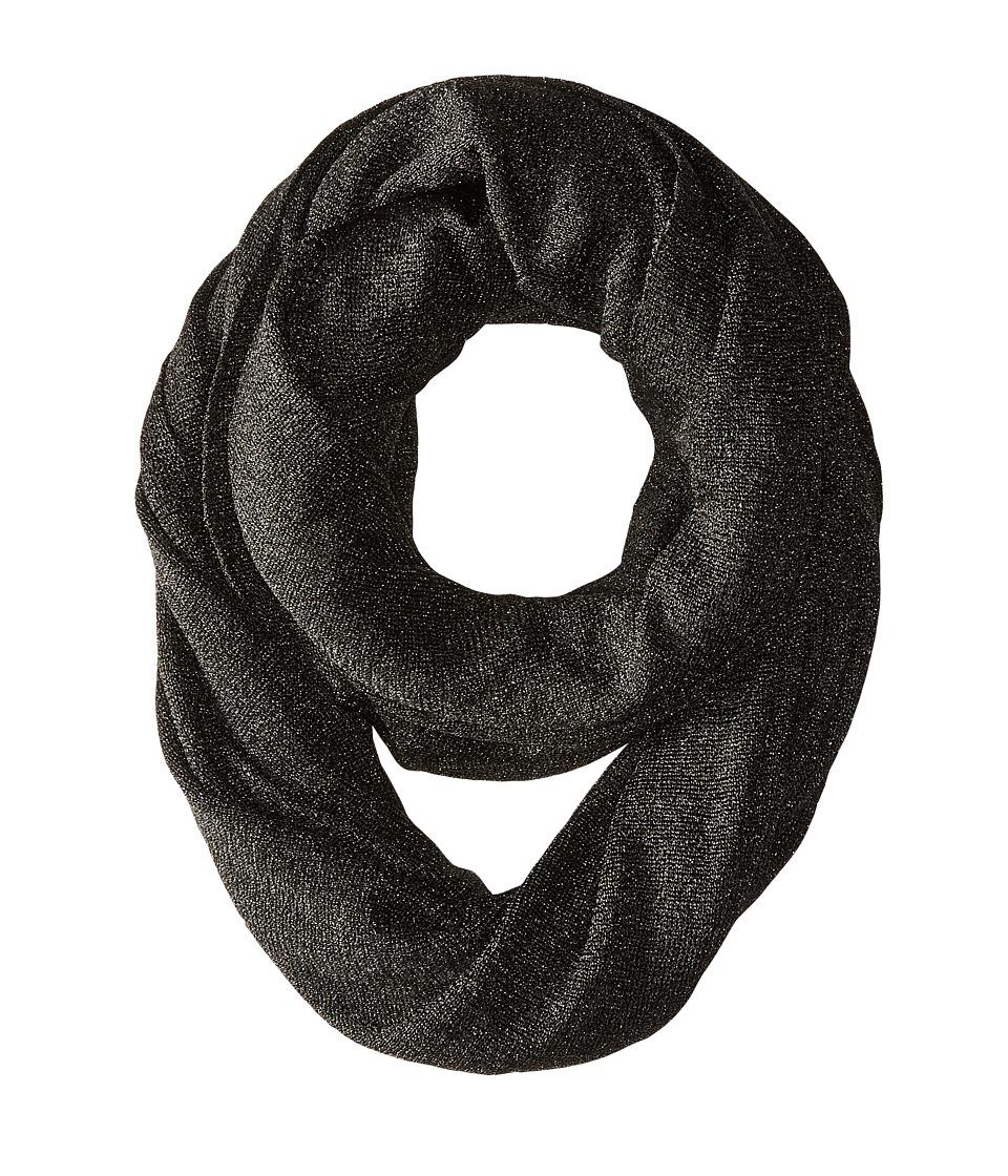 LAUREN by Ralph Lauren - Tamara Infinity Loop Scarf (Black) Scarves