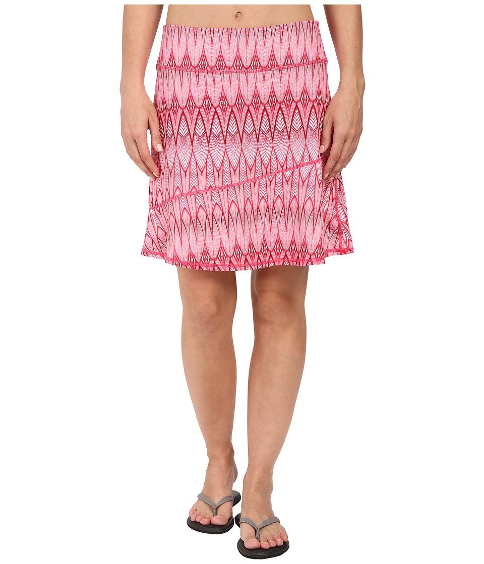 Prana Deedra Skirt (Azalea Feather) Women