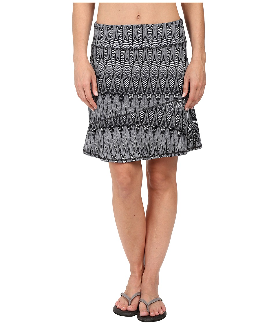Prana - Deedra Skirt (Black Feather) Women's Skirt