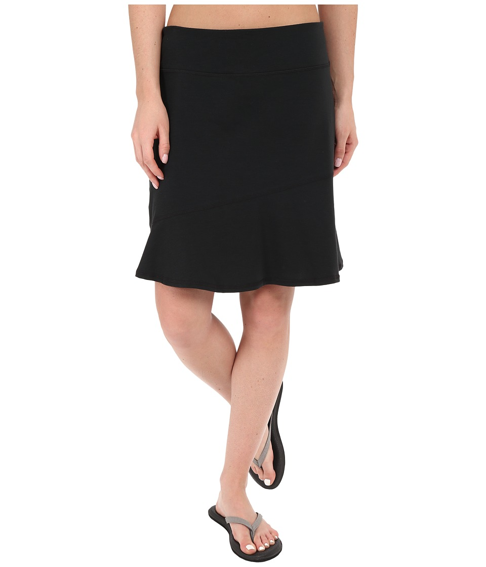 Prana - Deedra Skirt (Black) Women's Skirt