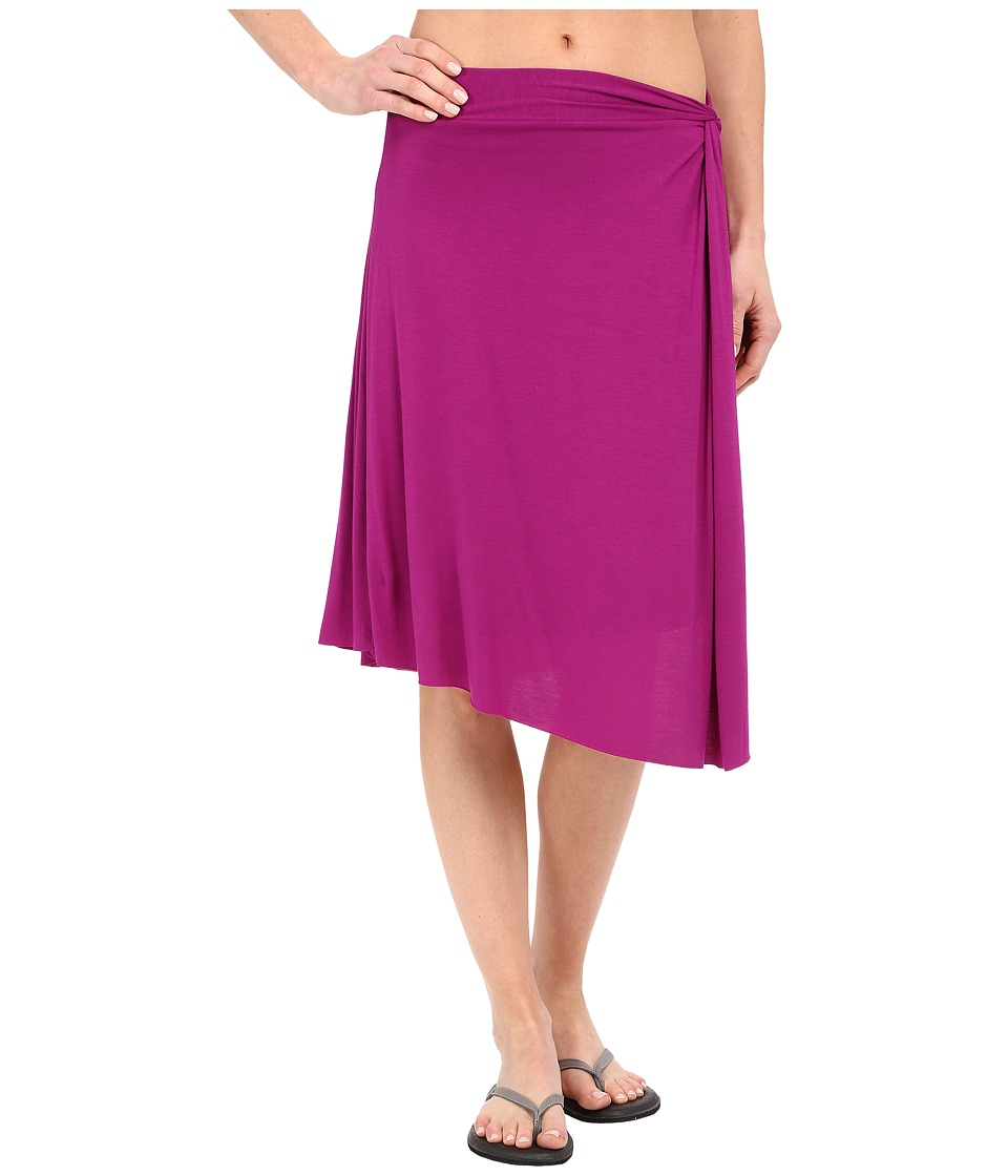 Prana Jessalyn Skirt (Rich Fuchsia) Women