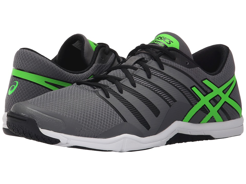ASICS - Met-Conviction (Titanium/Green Gecko/Black) Men's Shoes