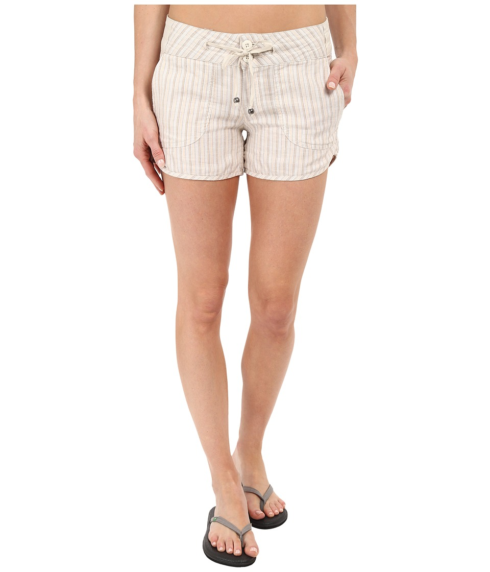 Prana - Vinia Shorts (Stone) Women's Shorts