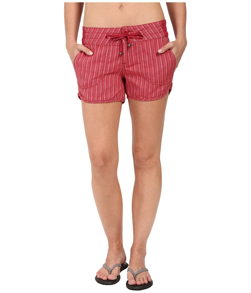 Prana - Vinia Shorts (Sunwashed Red) Women's Shorts