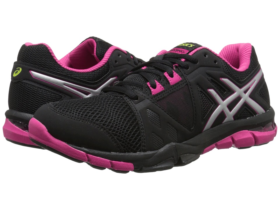 ASICS - Gel-Crazetm TR 3 (Black/Silver/Berry) Women's Shoes