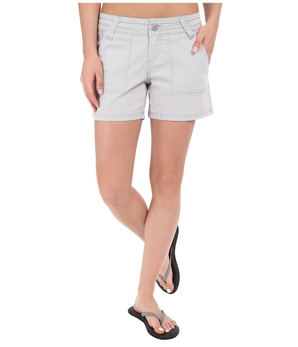 Prana - Tess Short (Silver) Women's Shorts