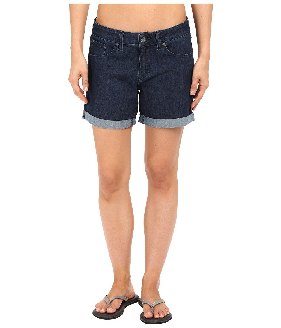 Prana - Kara Denim Short (Indigo) Women's Shorts
