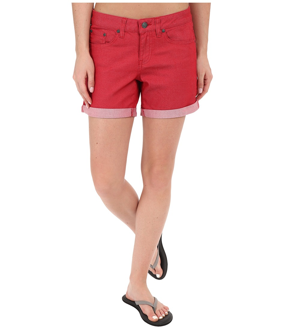 Prana - Kara Denim Short (Sunwashed Red) Women's Shorts