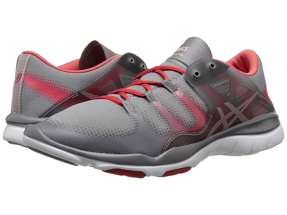 ASICS - GEL-Fit Vida (Taupe/Cotton Candy/Coral Rose) Women's Cross Training Shoes