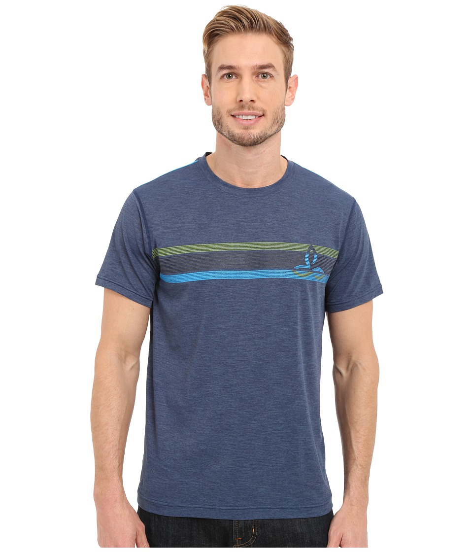 Prana - Calder Short Sleeve Tee (Blue Ridge) Men's T Shirt