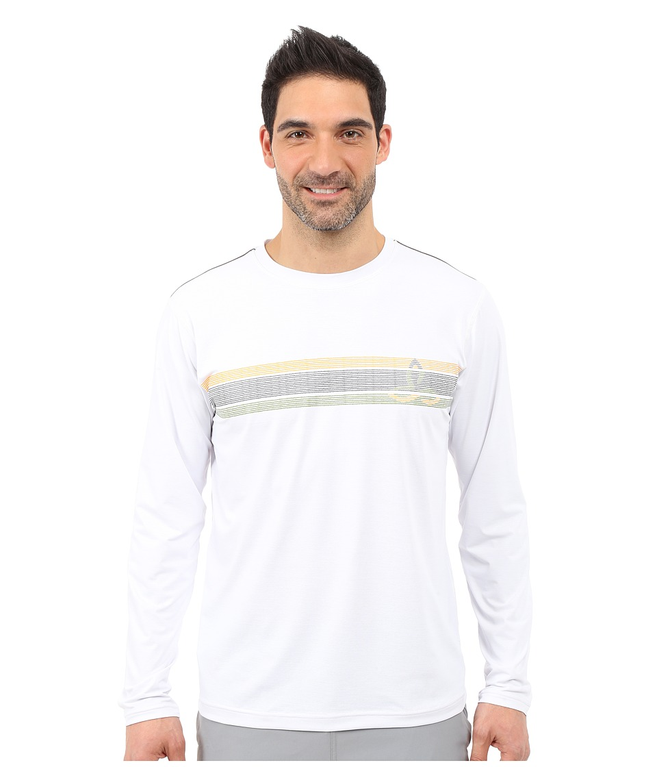 Prana - Calder L/S (White) Men's Long Sleeve Pullover