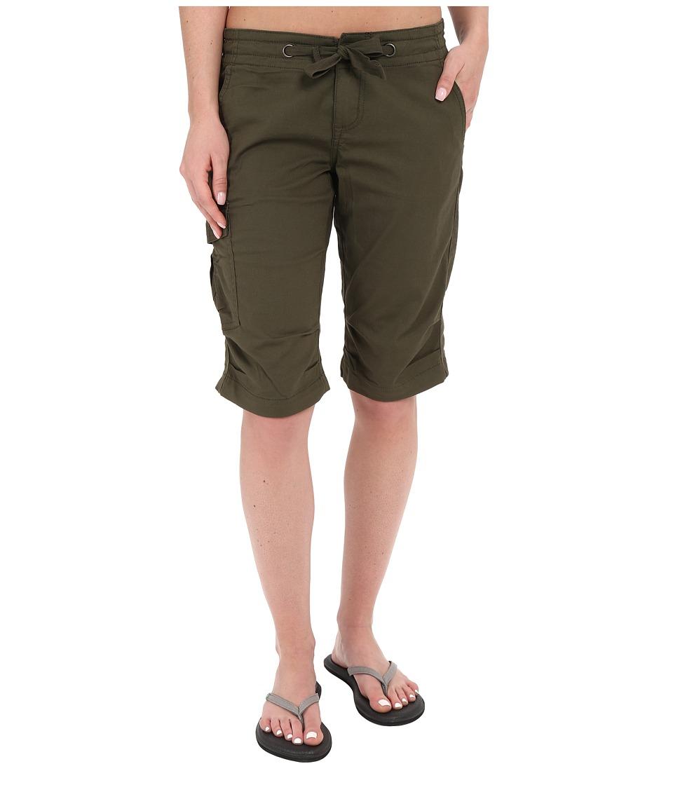Prana - Emma Knicker (Cargo Green) Women's Shorts