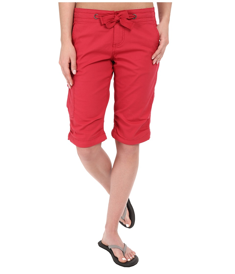 Prana - Emma Knicker (Sunwashed Red) Women's Shorts
