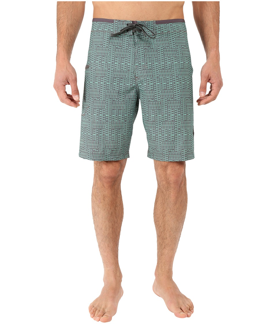 Prana - Catalyst Short (Jade Cream) Men's Swimwear