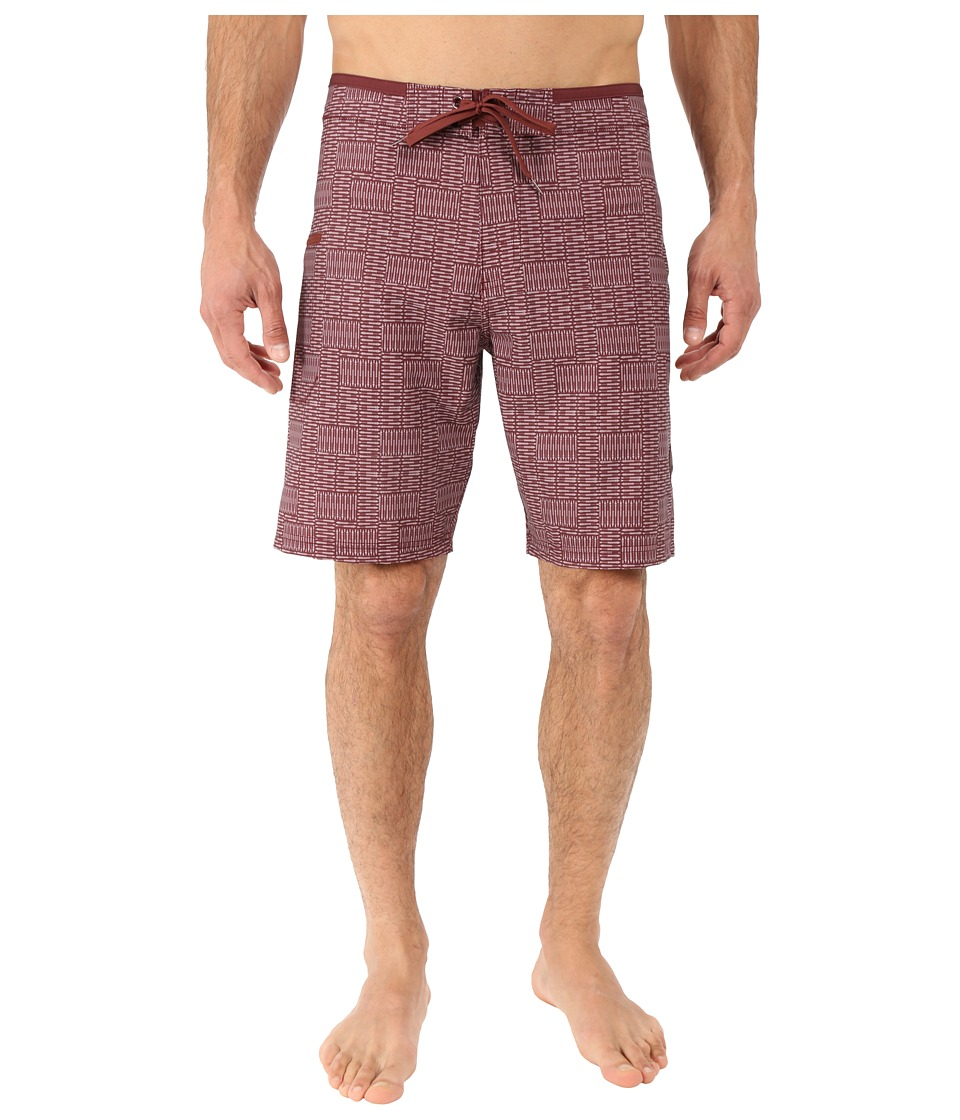 Prana - Catalyst Short (Raisin) Men's Swimwear