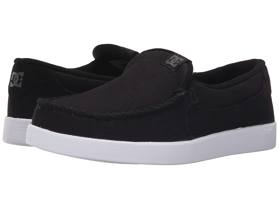 DC - Villain TX (Black) Men's Skate Shoes