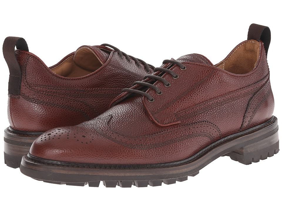 rag & bone - Spencer Wingtip (Oxblood) Men's Lace Up Wing Tip Shoes