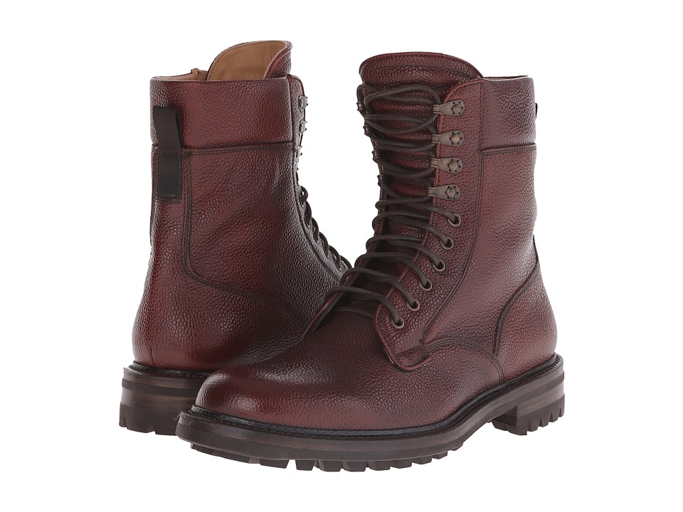 rag & bone - Spencer Commando Boot (Oxblood) Men's Lace-up Boots