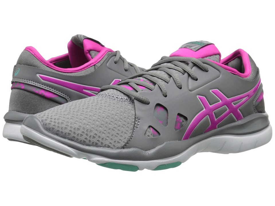 ASICS - Gel-Fit Nova 2 (Taupe/Pink Glow/Aqua Mint) Women's Shoes