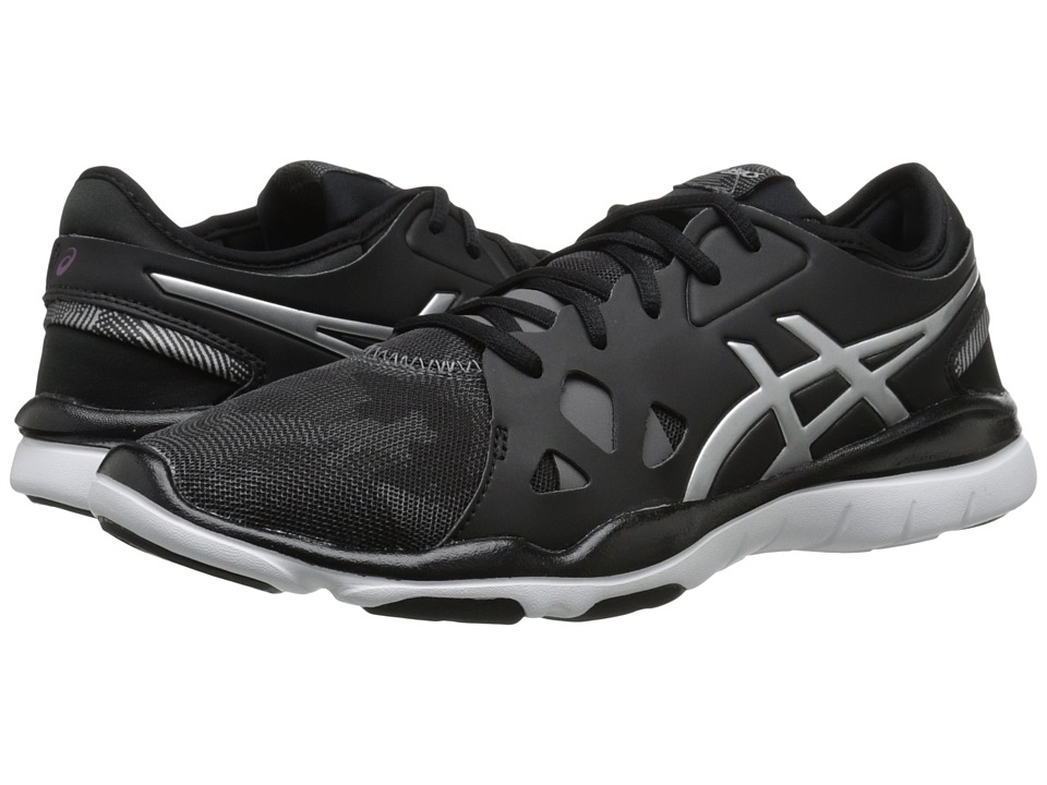 ASICS - Gel-Fit Nova 2 (Black/Silver) Women's Shoes