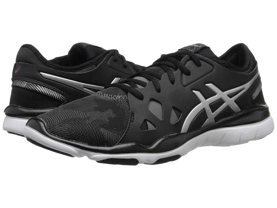 ASICS - Gel-Fit Nova 2 (Black/Silver) Women's Shoes